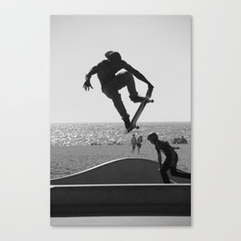 Skateboard Freedom Canvas Print
