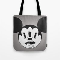 acid Tote Bags featuring Acid by Ceraz
