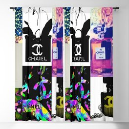 CC No.5 Fashion Collage Blackout Curtain