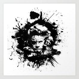 Ludwig van Beethoven Art Print