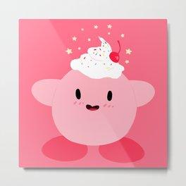 Sweet Kirby Metal Print