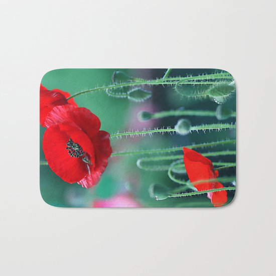 Poppies (light)2. Bath Mat