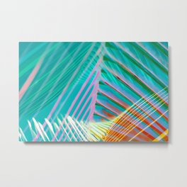 bright and cheerful palm Metal Print