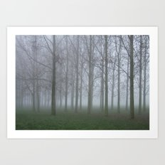 Lumièrepark, Almere Art Print