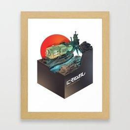 Arcadia fanart Framed Art Print