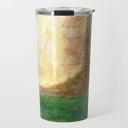 Awakening, Abstract Landscape Travel Mug