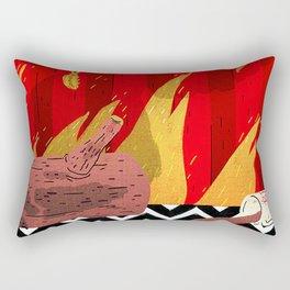 Twin Peaks Elements Rectangular Pillow