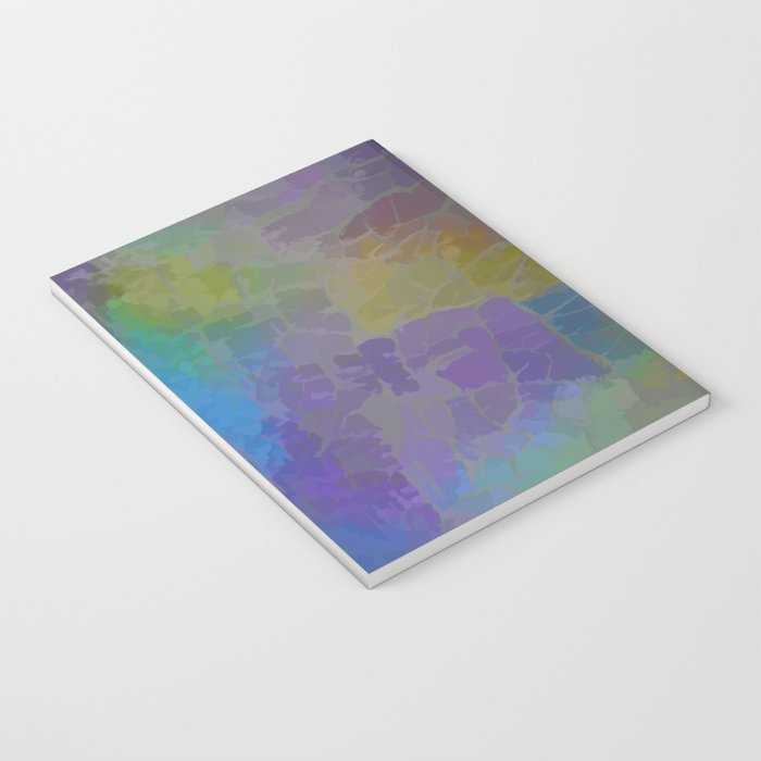 Rainbow Mosaic Abstract Notebook
