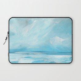 Resurgence - Stormy Ocean Seascape Laptop Sleeve