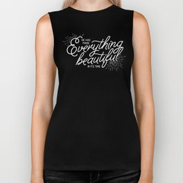 EVERYTHING BEAUTIFUL Biker Tank