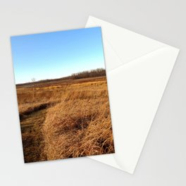 Through the Field Stationery Cards