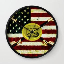 US CAVALREY - 020 Wall Clock