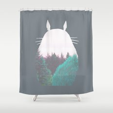 Troll of the Dreamland Forest Shower Curtain