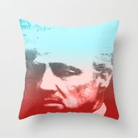 godfather Throw Pillows featuring GODFATHER - Do I have your Loyalty? by Bright Enough💡