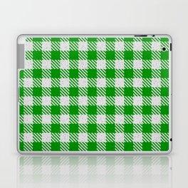 Islamic Green Buffalo Plaid Laptop & iPad Skin