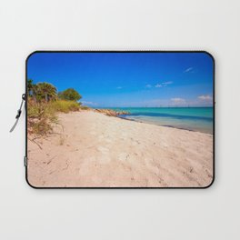 Beautiful Island Day Laptop Sleeve
