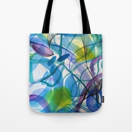 Hues of Blue Tote Bag