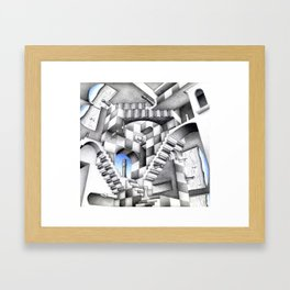 Relative Game Framed Art Print
