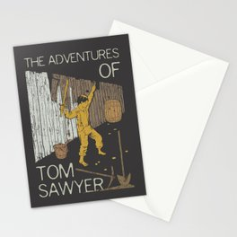 Books Collection: Tom Sawyer Stationery Cards