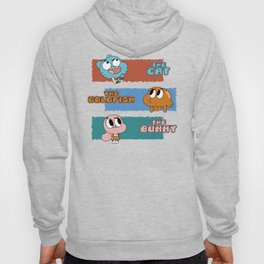 The Cat, The Goldfish and The Bunny Hoody