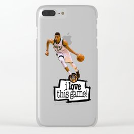 Giannis Antetokounmpo Clear iPhone Case