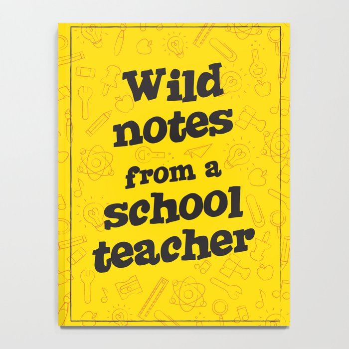 school teacher Notebook