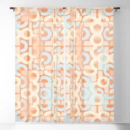 Pastel Retro Decor #society6 #buyart Blackout Curtain
