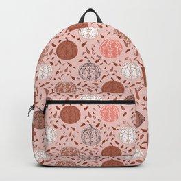 Autumn Pumpkin Pattern Backpack