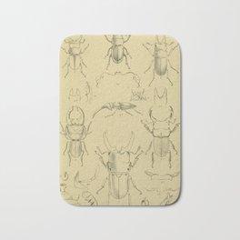 F.J. Sidney Parry - A catalogue of Lucanoid Coleoptera (1864) - Odontolabis beetles Bath Mat