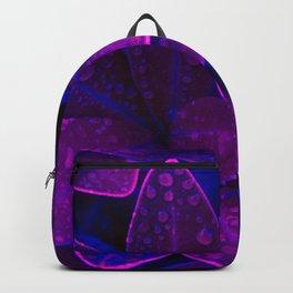 purple raindrops Backpack