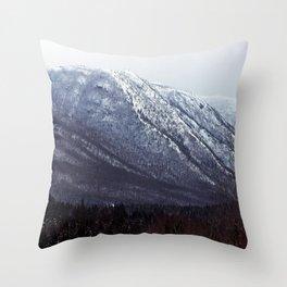 Squid Mountain Throw Pillow