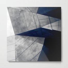 Confusion of triangles #01 Metal Print