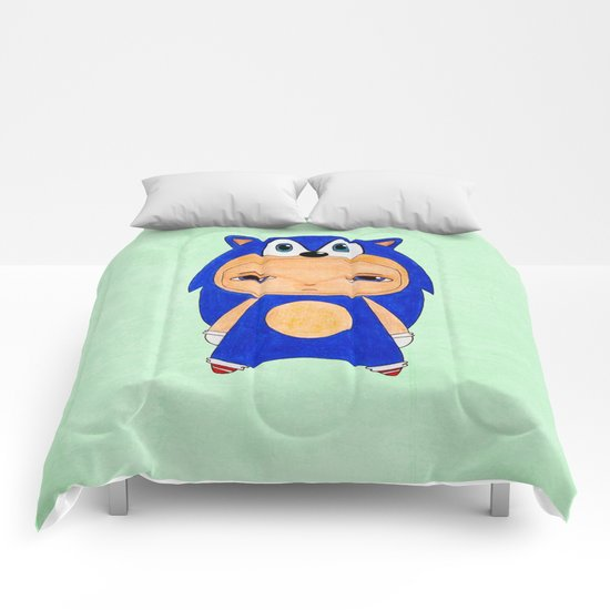 A Boy - Sonic the Hedgehog Comforters