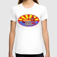 arizona T-shirts featuring Arizona by Anfelmo