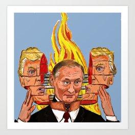 Trump is Putin Art Print