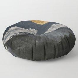 Moon Melodies Floor Pillow