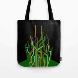 Circuit tree Tote Bag