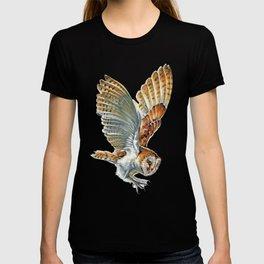 Barn Owl Landing  T-shirt
