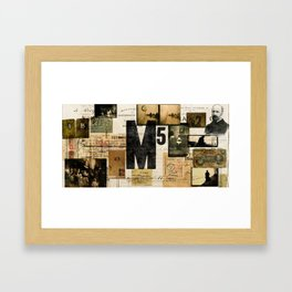 M5 Collection Framed Art Print