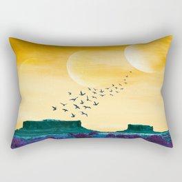 Thirst Desert Rectangular Pillow