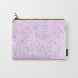 Flying Phallus Print Carry-All Pouch