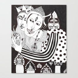The Tricksters Canvas Print