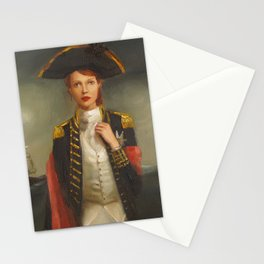 Her Face Launched A Thousand Ships Stationery Cards