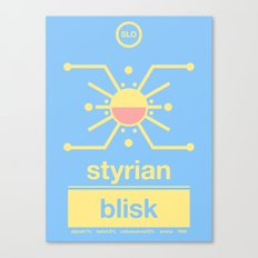 styrian blisk single hop Canvas Print