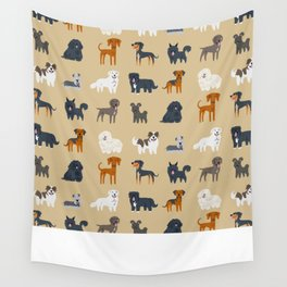 EASTERN EUROPEAN DOGS Wall Tapestry