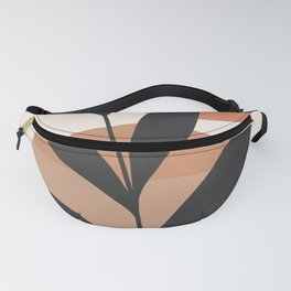 Abstract Minimal -Plant 7 Fanny Pack