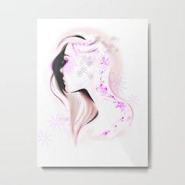 Evelyn Metal Print