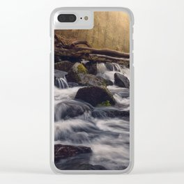 Fingle Cascades Clear iPhone Case