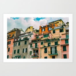 """Travel photography print """"Colorful Italy"""" photo art made in Italy. Art Print Art Print Art Print"""