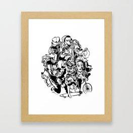 The Arthounds Framed Art Print